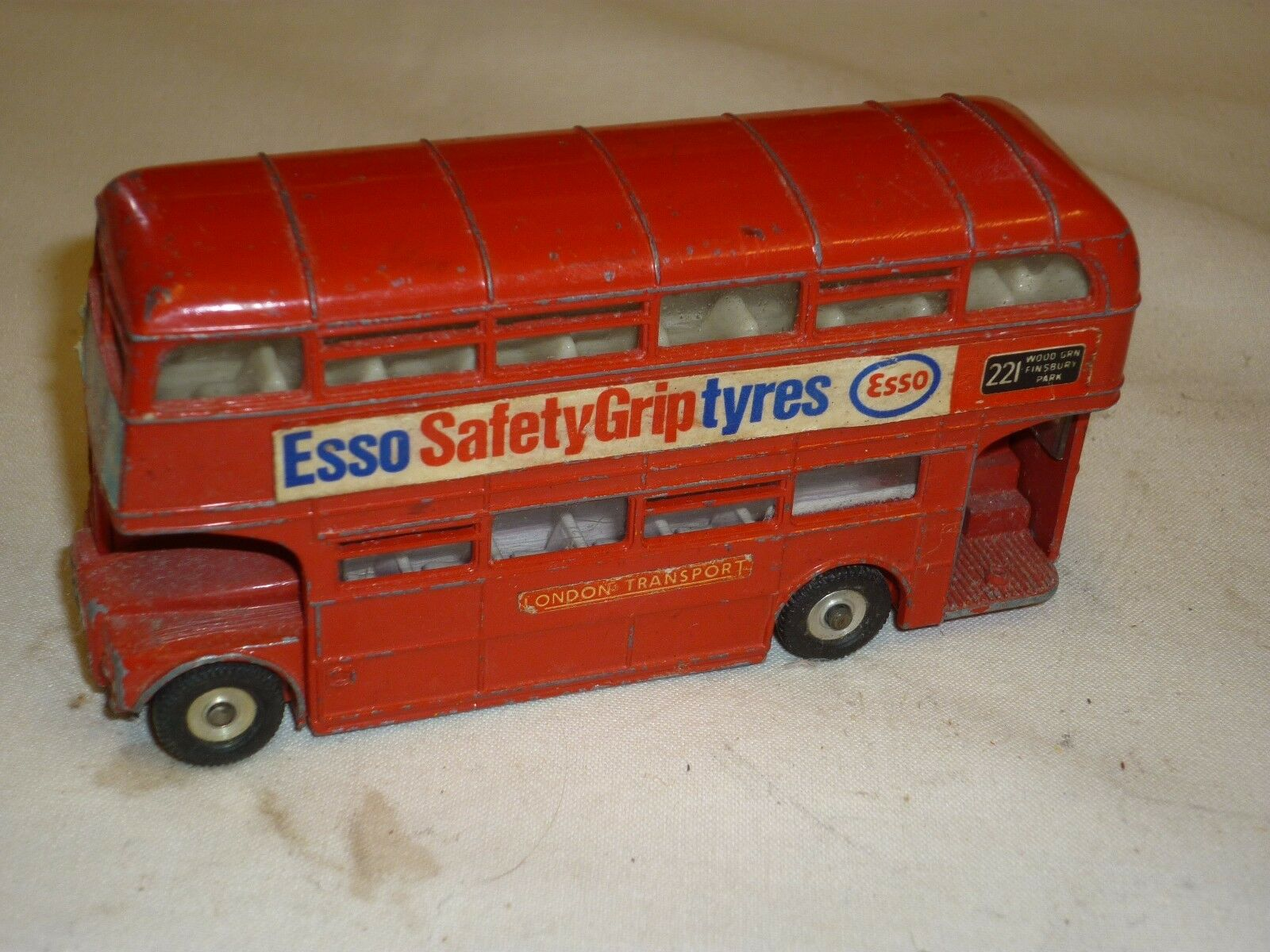 A Play worn Dinkyi toys 289 Routemaster bus