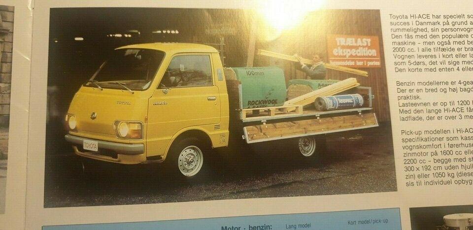 Brochure, Toyota