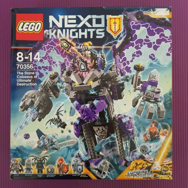 LEGO Nexo Knights The Stone Colossus of Ultimate Destruction NISB 70356