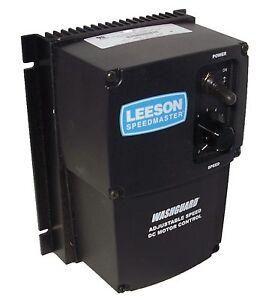 Leeson Dc Motor Control 174107 Nema 4x 90 180v Dc 1 8hp To 2hp Reversing Ebay