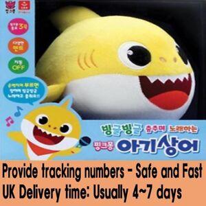 Cantar Juguete Sonido Coreana Título Tiburón Cantando Ver Pinkfong Detalles Original Bebé 3 Muñecas Bailando De Canción Mover 92HEDI
