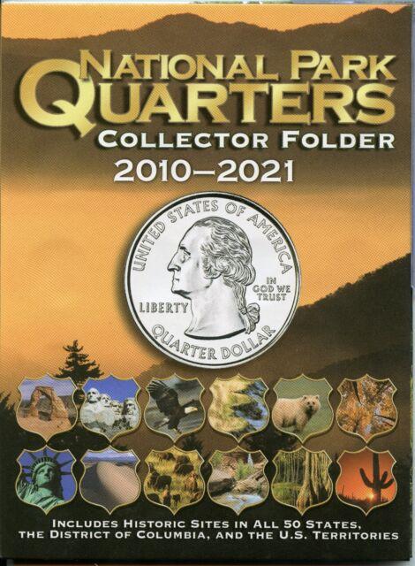 Coin Folder - National Park Quarters 2010 - 2021 America the Beautiful ATB Set