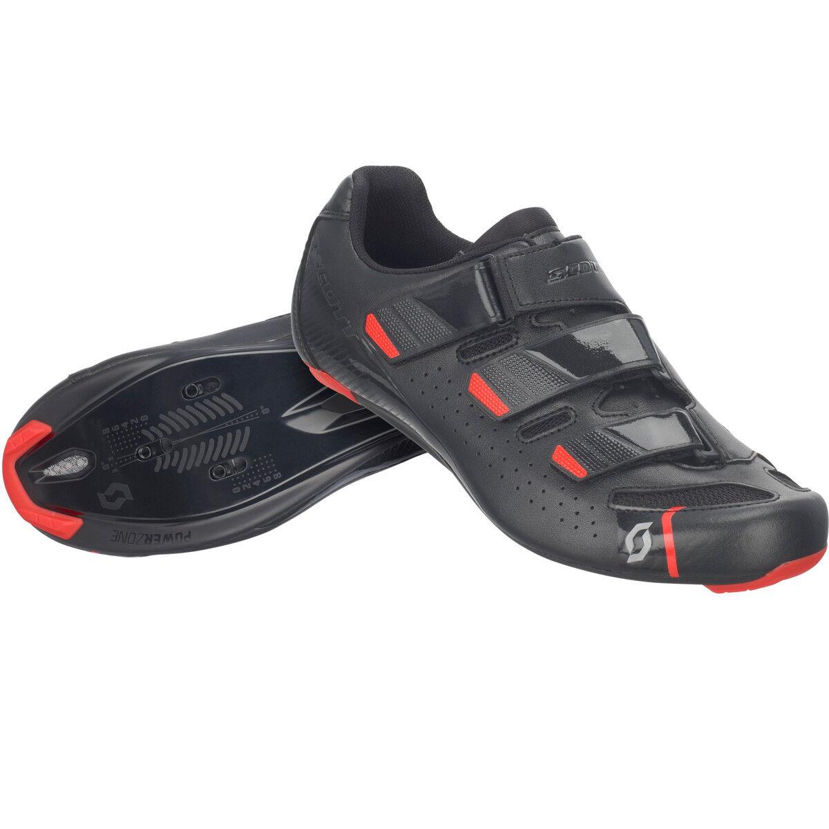 Scott Road Comp Rennrad Fahrrad Schuhe schwarz rot 2019