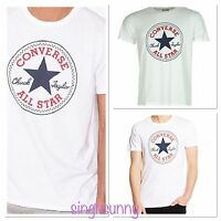 Converse All Star Short Sleeve T-Shirt for Men White