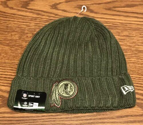 New Era Washington Redskins 2017 Salute To Service Cuffed Beanie Knit Hat NWT