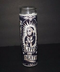 Details about SANTISIMA SANTA MUERTE Prayer Altar Church Candle Novena Lady  of the HOLY DEATH