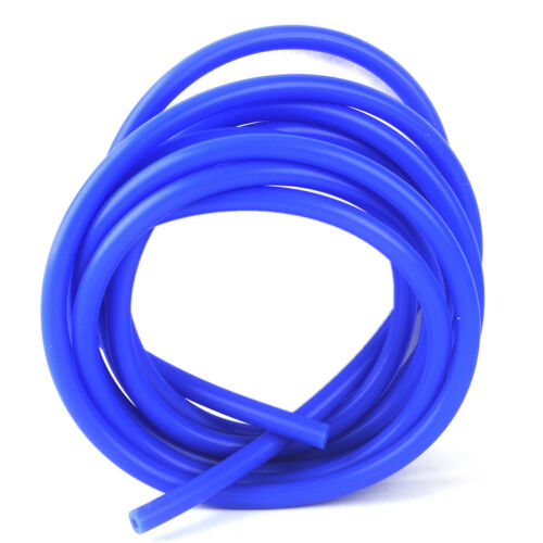 3M//Roll Blue Silicone High Temp Air Vacuum Intake Engine Bay Dress Up Hose Tube