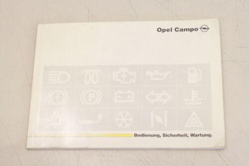 OPEL Opel Campo 1992 manuale 92614