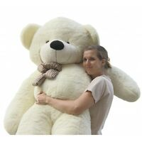 Joyfay® 200cm 6.5ft White Giant Teddy Bear Big Stuffed Large Birthday Gift