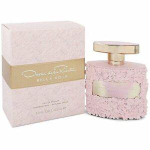 Bella Rosa by Oscar de la Renta 3.3 / 3.4 oz EDP Perfume For Women  New in Box