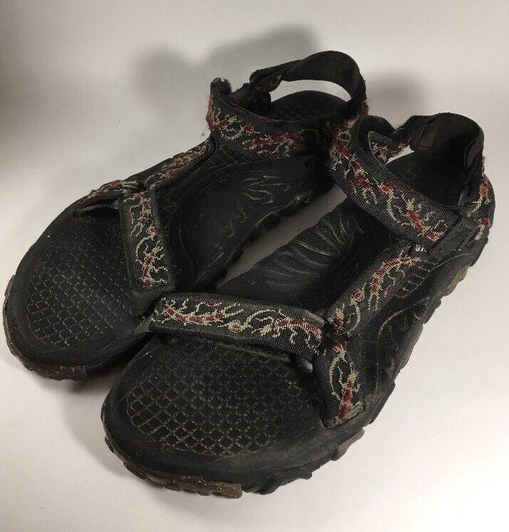 5ca068481 Teva Valkyrie Sport Sport Sport Sandals Water Shoes Men s Size 13M Red Tan  Black Rafting d98250
