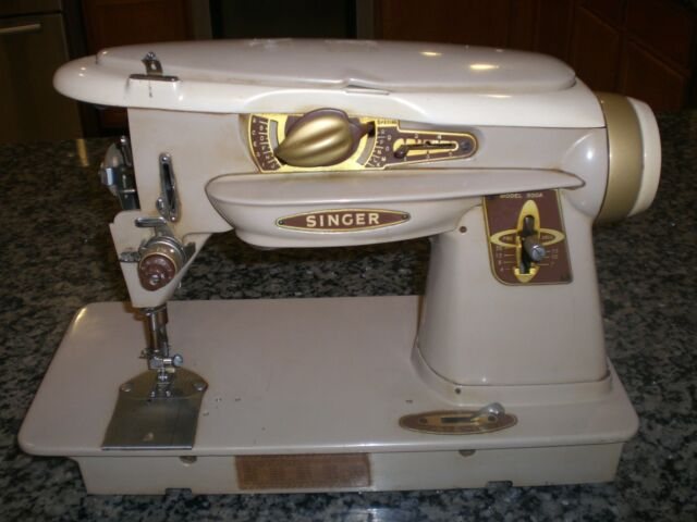 Singer 40A SlantOMatic Rocketeer Sewing Machine For Parts Or Best Matic Sewing Machine