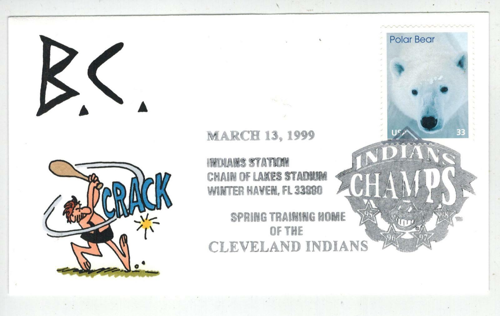 Handpainted Baseball Event 1999 Cleveland Indians Champs! Winter Haven FL 12Made