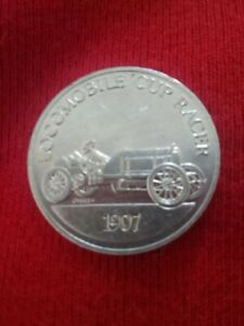 1907-Locomobile-Cup-Racer-Sunoco-Antique-Car-Coin
