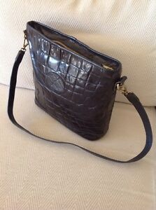 6c0f9b7024c2 Image is loading Mulberry-Vintage-Shoulder-Bag-In-Black-Congo-Leather-