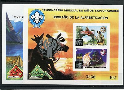 Treu Nicaragua Block 120/21 Postfrisch Motive Pfadfinder ............................1/292