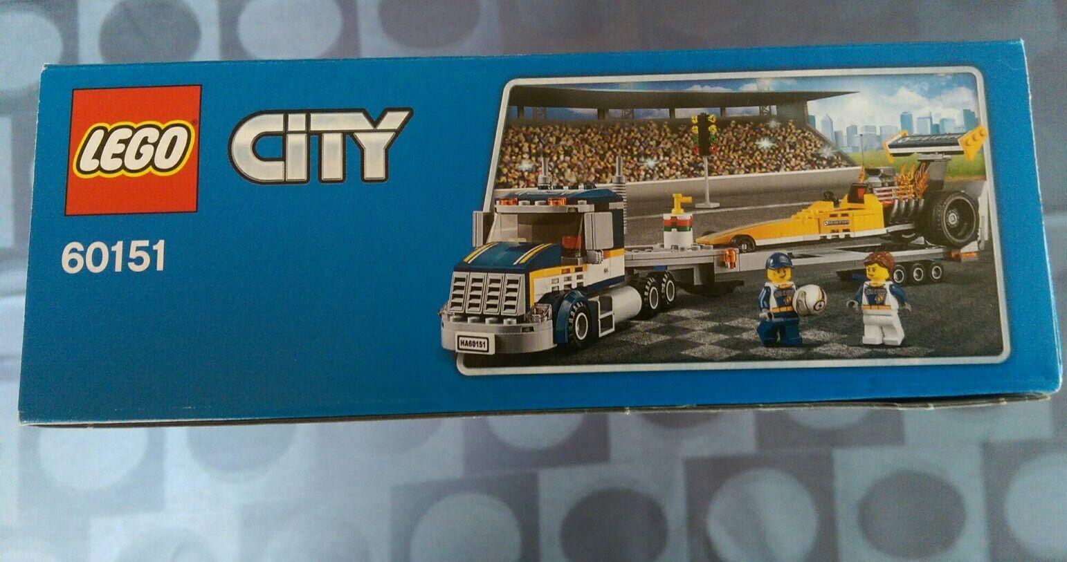 LEGO CITY 60151 -Le transporteur du dragster- dragster- dragster- boite neuve,scellée 614943