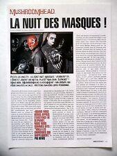 COUPURE DE PRESSE-CLIPPING :  MUSHROOMHEAD  08-09/2002 Pig Benis,Xx