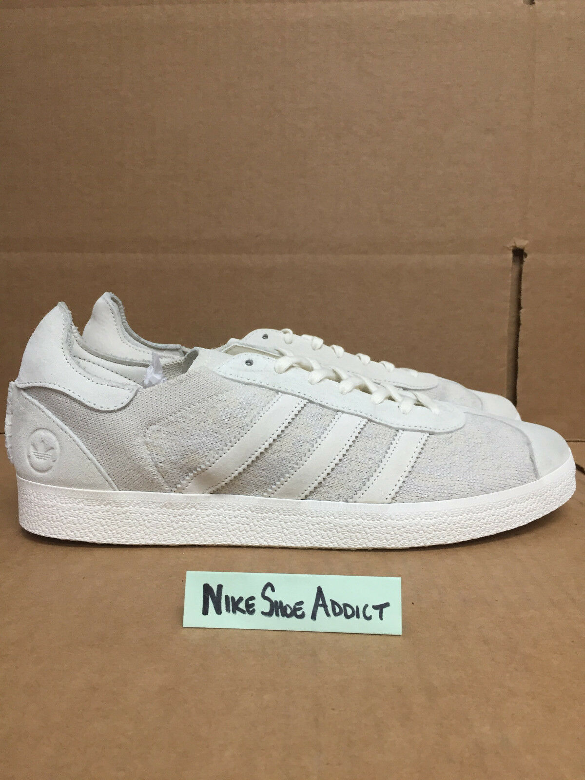 Adidas Consortium WH Wings And Horns Gazalle OG 85 Off White BB3750 Suede PK
