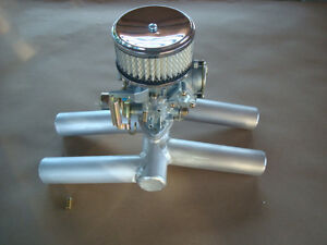 Details about GOLDWING GL1000 1100 SINGLE VW CARBURETOR CONVERSION MANIFOLD  KIT W/ AIR FILTER