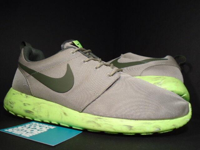 Nike BAMBOO ROSHE RUN ROSHERUN QS BAMBOO Nike CARGO KHAKI BROWN VOLT SAIL 633054-200 DS 10.5 Chaussures de sport pour hommes et femmes 413355