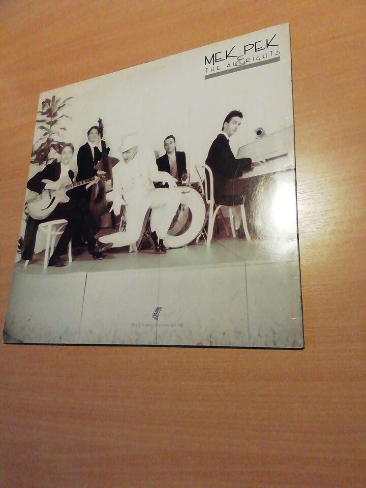 LP, Mek pek og The Allrights TRYKFEJL PÅ LABEL, Så gør i bare