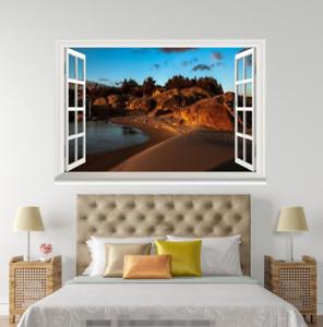 3D Sunset Road 1002 Open Windows WallPaper Murals Wall Print AJ Carly