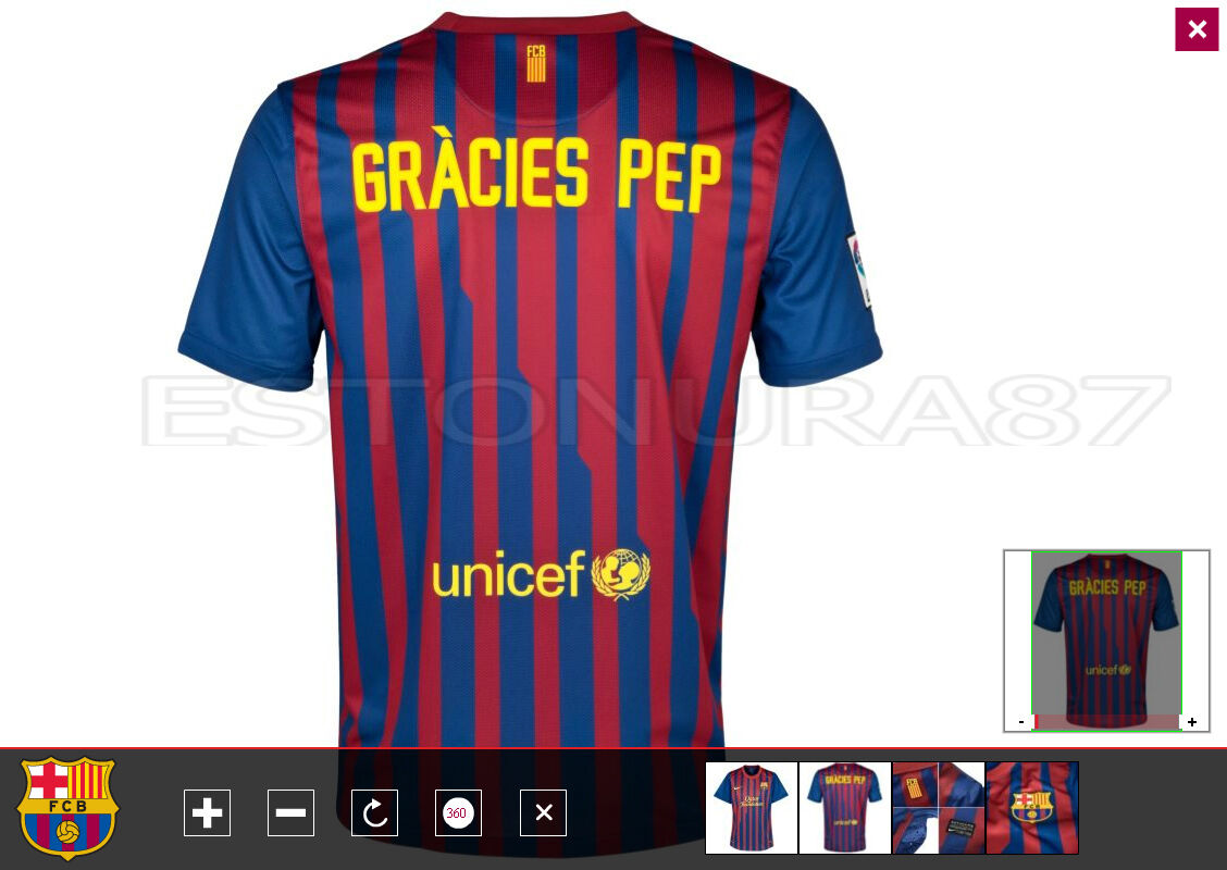 BARCELONA PLAYER ISSUE SHIRT  PEP GUARDIOLA   BAYERN   MANCHESTER CITY   MESSI
