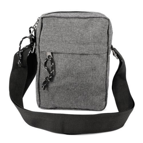 Mens Travel Messenger Bag Shoulder Bag Crossbody Handbag Small Bag Briefcase