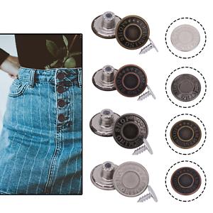 Martillo de 17mm en los botones Jeans Denim Tachas de aleación basados en latón con tachuela para chaqueta