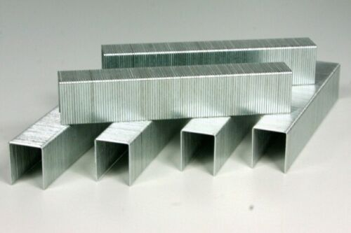 2000 Stück Typ 53 11,3x12x0,75 mm Tackerklammer Heftklammer Feindrahtklammer
