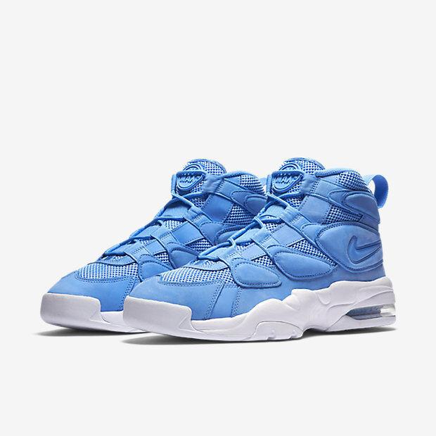 2017 Nike Air Max Uptempo 2 UNC Blue Size 11. 922931-400 Jordan Pippen