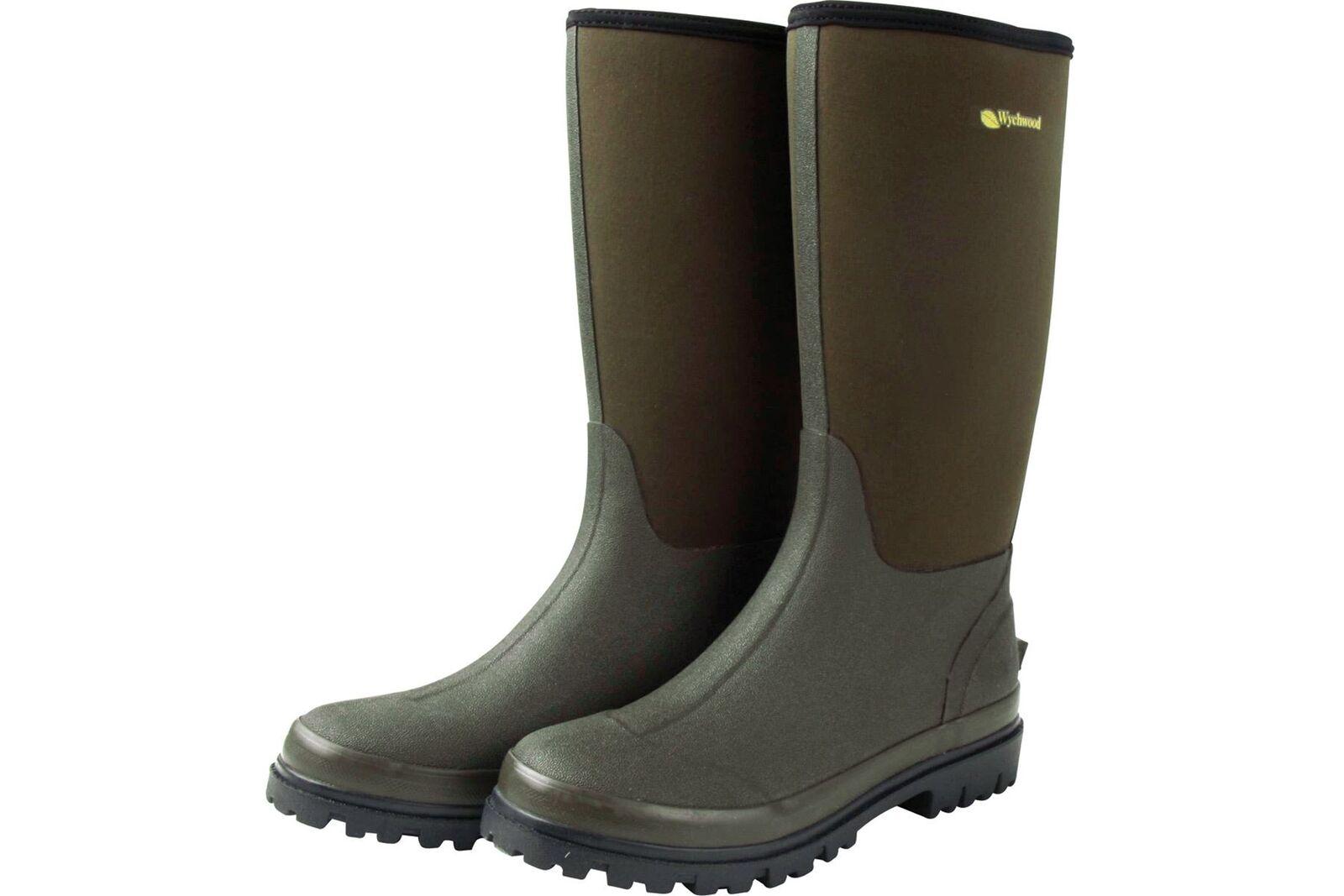 Wychwood Neoprene 3 4 Wellington Boots