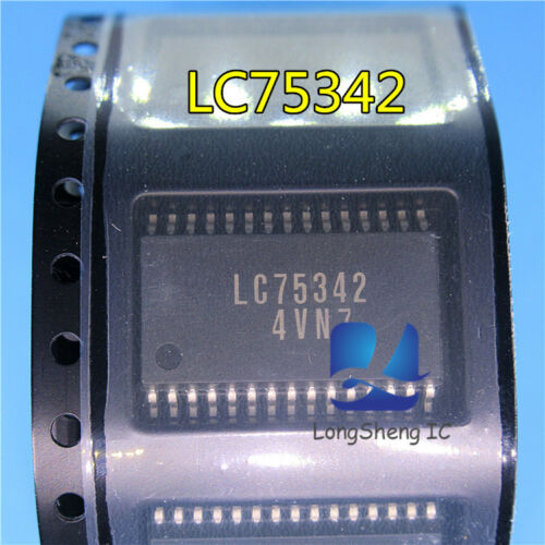 5PCS LC75342M-TLM LC75342 SOIC new