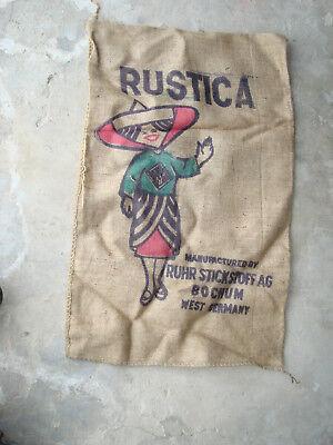 Sonstige Radient Alter Sack Jutesack Leinensack Ruhr Stickstoff Ag Bochum Düngemittel Manila Antiquitäten & Kunst