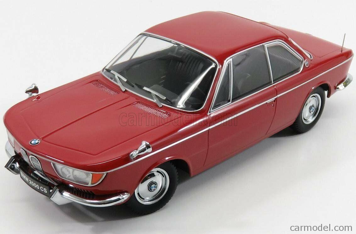 Kk-scale kkdc180122 scala 1 18 bmw 2000 cs coupe 2-door 1965 rot