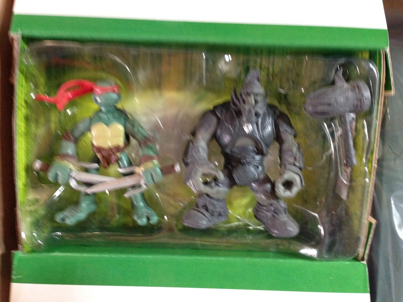 TMNT Ralph's Iron Pumping Gym with Raphael & General Mono Playmates 2007
