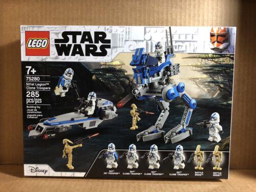 Lego Star Wars 501st Legion Clone Troopers 75280 Sealed NIB