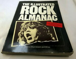 THE-ILLUSTRATED-ROCK-ALMANAC-by-Pearce-Marchbank-amp-Barry-Miles-1977-1st-Edition