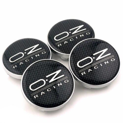 4pcs OZ RACING Auto Car Wheel Center Hub Caps Badge Emblem Decal Sticker 60mm
