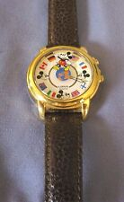 Disney Musical Mickey Mouse Flags Watch RARE