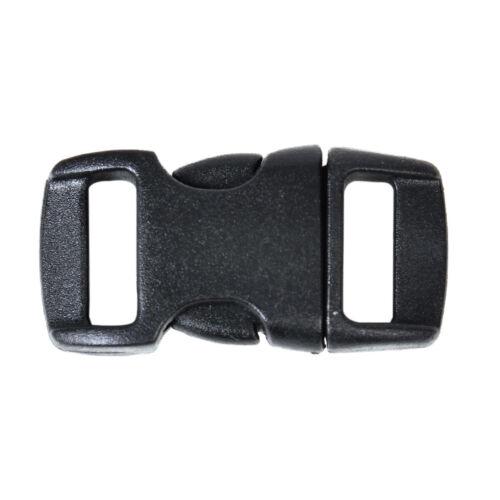 10mm Kunststoff Schnalle Steckschnalle Gurtschnalle Steckverschluss schliesse