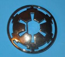 Star Wars Chrome Color Imperial Logo Belt Buckle 2007 New without Tags