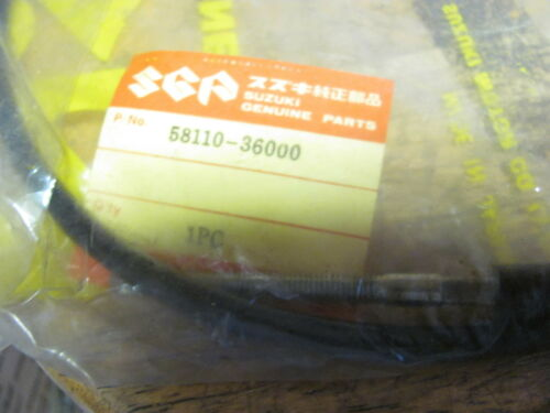 NOS OEM Susuki Front Brake Cable GT185K Adventurer 1973 58110-36000