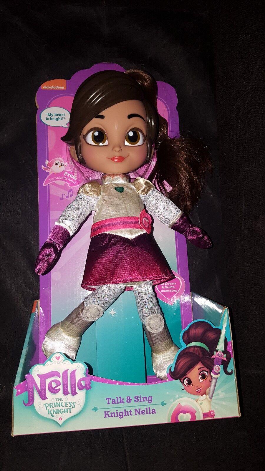 Nella The Princess Knight Talk & Sing Doll BNIB