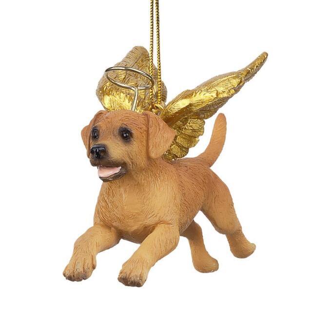 Design Toscano Angel Golden Retriever Holiday Christmas Ornament - Design Toscano Angel Golden Retriever Holiday Christmas Ornament EBay