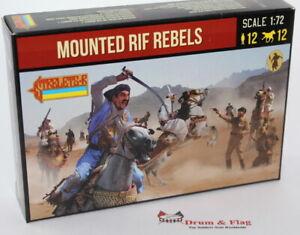 Strelets-Set-190-Mounted-Rif-Rebels-1-72-Scale