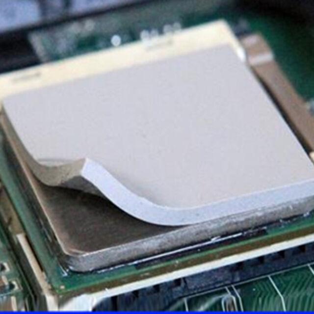 Silicone Pad 100x100x2mm GPU CPU Heatsink Cooling Thermal Conductive Pads