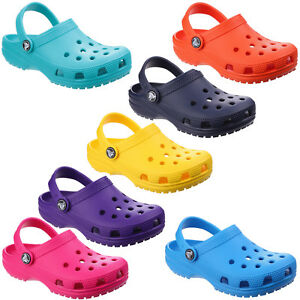 Crocs-Classic-Childrens-Clogs-Summer-Beach-Croslite-Kids-Boys-Girls-Sandals-Shoe