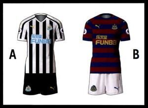 new product dc033 e9828 Details about Merlin Premier League 2019 - Home/Away Kit Newcastle United  No. 165